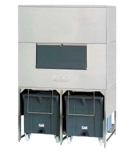 Brema DRB 1200 buz deposu Double roller bin 1200 tekerlekli buz deposu
