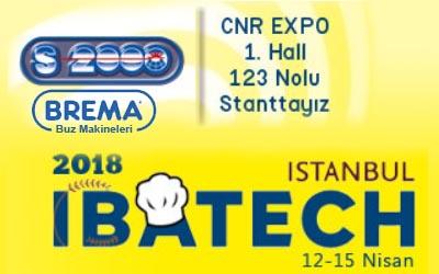 Brema Ürünleri Ibatech İstanbul 2018 fuarında